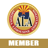 Logo for the Arizona Limousine Association